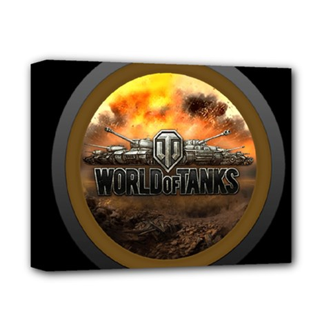 World Of Tanks Wot Deluxe Canvas 14  X 11