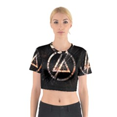 Linkin Park Logo Band Rock Cotton Crop Top