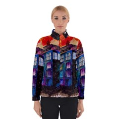 Dr Who Tardis Painting Winterwear