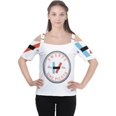 Twenty One Pilots Cutout Shoulder Tee