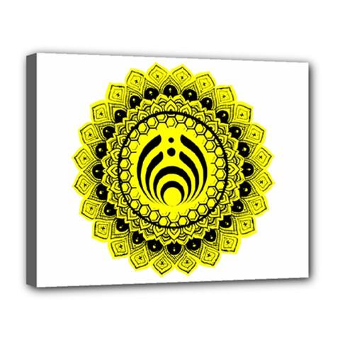 Bassnectar Sunflower Canvas 14  X 11