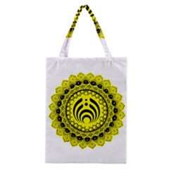 Bassnectar Sunflower Classic Tote Bag