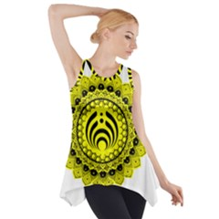 Bassnectar Sunflower Side Drop Tank Tunic