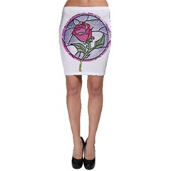 Beauty And The Beast Rose Bodycon Skirt