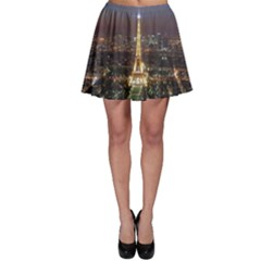 Paris At Night Skater Skirt