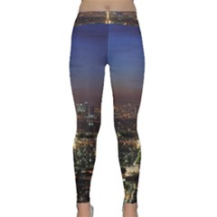 Paris At Night Classic Yoga Leggings