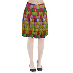 Colorful Tiles Pattern                       Pleated Skirt
