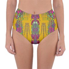 Rainy Day To Cherish  In The Eyes Of The Beholder Reversible High Waist Bikini Bottoms