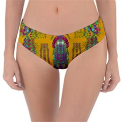 Rainy Day To Cherish  In The Eyes Of The Beholder Reversible Classic Bikini Bottoms