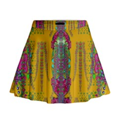 Rainy Day To Cherish  In The Eyes Of The Beholder Mini Flare Skirt