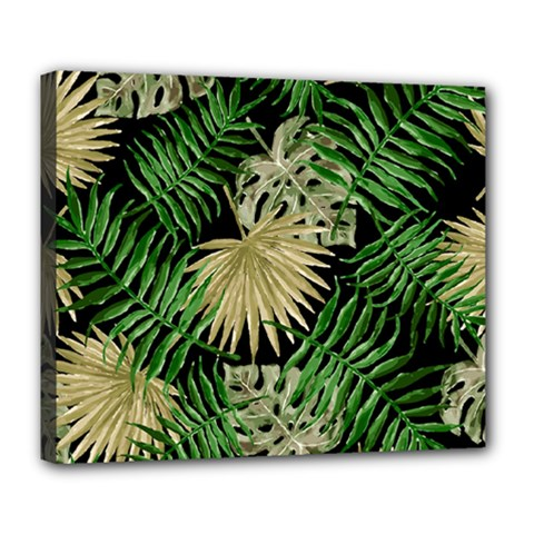 Tropical Pattern Deluxe Canvas 24  X 20