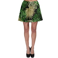Tropical Pattern Skater Skirt