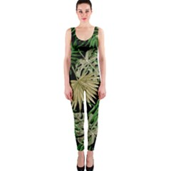 Tropical Pattern Onepiece Catsuit