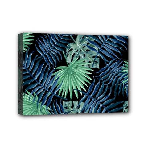 Tropical Pattern Mini Canvas 7  X 5