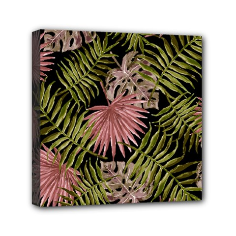Tropical Pattern Mini Canvas 6  X 6