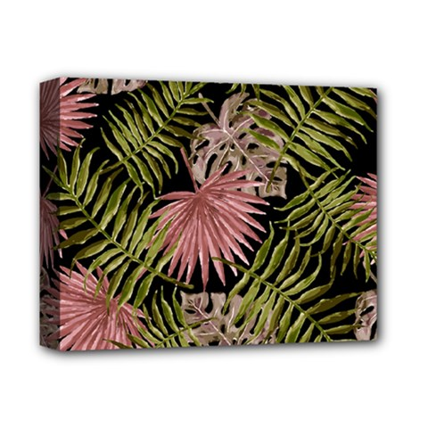 Tropical Pattern Deluxe Canvas 14  X 11