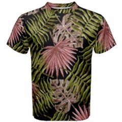Tropical Pattern Men s Cotton Tee