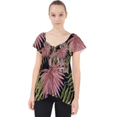 Tropical Pattern Dolly Top
