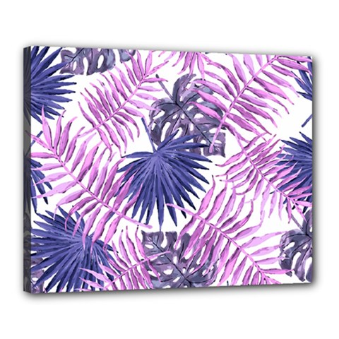 Tropical Pattern Canvas 20  X 16