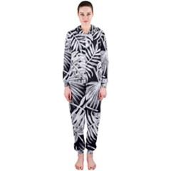 Tropical Pattern Hooded Jumpsuit (ladies)