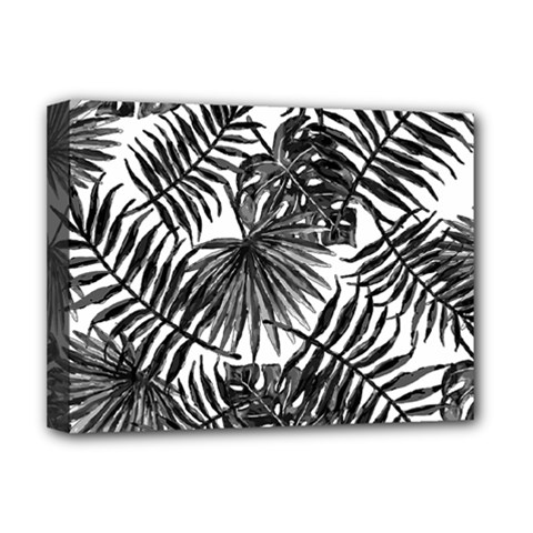 Tropical Pattern Deluxe Canvas 16  X 12