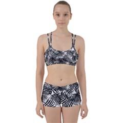Tropical Pattern Women s Sports Set