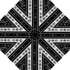 Folklore Pattern Folding Umbrellas