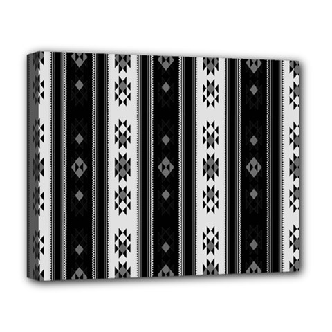 Folklore Pattern Deluxe Canvas 20  X 16