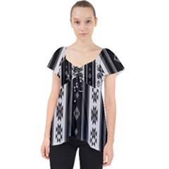 Folklore Pattern Dolly Top