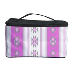 Folklore Pattern Cosmetic Storage Case