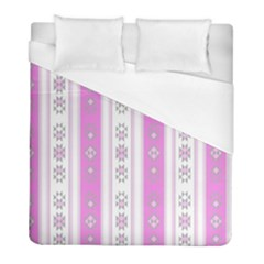 Folklore Pattern Duvet Cover (full/ Double Size)