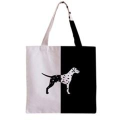 Dalmatian Dog Grocery Tote Bag