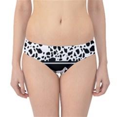 Dalmatian Dog Hipster Bikini Bottoms