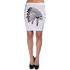 Indian Chef  Bodycon Skirt
