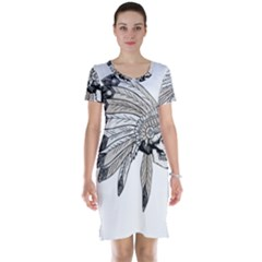 Indian Chef  Short Sleeve Nightdress