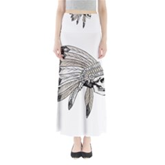 Indian Chef  Full Length Maxi Skirt