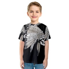 Indian Chef  Kids  Sport Mesh Tee