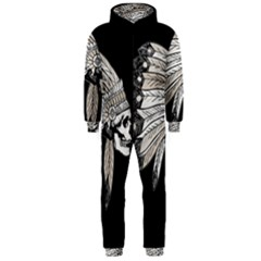 Indian Chef  Hooded Jumpsuit (men)