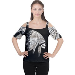 Indian Chef  Cutout Shoulder Tee