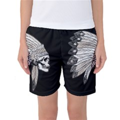 Indian Chef  Women s Basketball Shorts