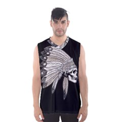 Indian Chef  Men s Basketball Tank Top