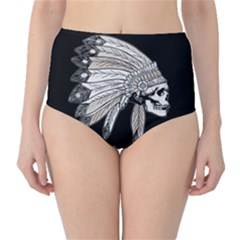 Indian Chef  High Waist Bikini Bottoms