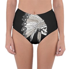 Indian Chef  Reversible High Waist Bikini Bottoms