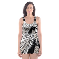 Indian Chef  Skater Dress Swimsuit