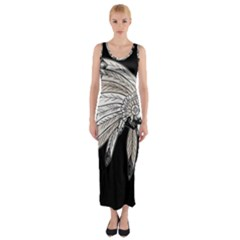 Indian Chef  Fitted Maxi Dress