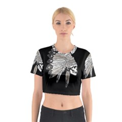 Indian Chef  Cotton Crop Top