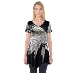 Indian Chef  Short Sleeve Tunic