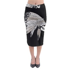 Indian Chef  Midi Pencil Skirt