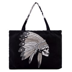 Indian Chef  Zipper Medium Tote Bag