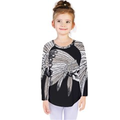 Indian Chef  Kids  Long Sleeve Tee